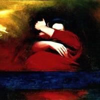 huile sur toile, couple, 130x97cm, 1985