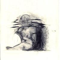 petite bonne femme dessin n°5, 21 x 29,7cm, 1988, collection Florence et Daniel Guerlain.