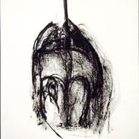 petite bonne femme n°4, crayon, encre, 21x30cm 1989