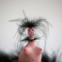 petite créature avec fourrure 8, 2012, détail