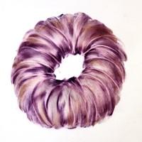 pastel violet sur calque n°5, 29 x 39 cm, 2010.