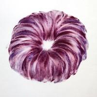 pastel violet sur calque n°9, 29 x 39cm, 2010.