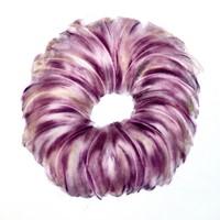 pastel violet sur calque n°2, 29 x 39 cm, 2010.