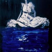 acrylique sur toile, 130x97cm, 1977