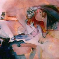 acrylique sur toile n°1, 60F