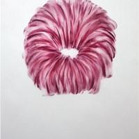 Pastel rose sur calque 50cm x 64cm 2009