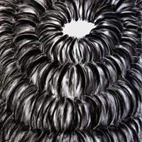 Pastel noir n°1 115 cm x 75 cm 2010