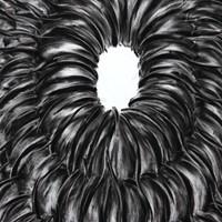 pastel noir au grand vide n°2, 115cmx75cm, 2010