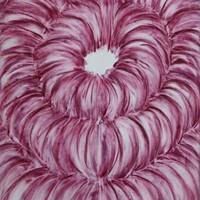 Choeur 4, pastel rose sur calque, 66 x 50 cm, 2011