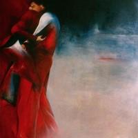 huile sur toile n°2, couple, 146x114cm, 1984