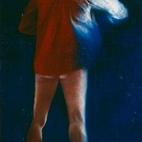 huile sur toile n°1, David, 1982